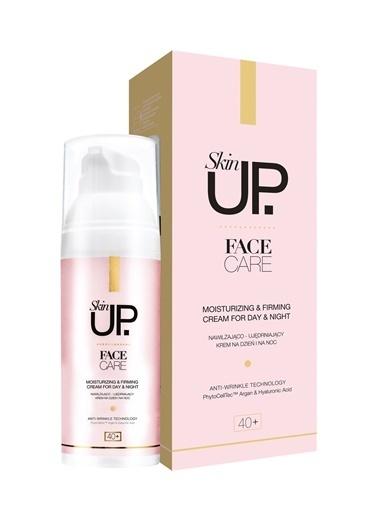 Skin UP +40 Yaş Sıkılaştırıcı & Nemlendirici Krem Kırışıklık Karşıtı Gece Gündüz Kremi 50ml Renksiz